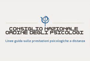 linee guida psicologia online