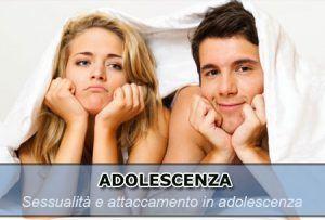 adolescenza sessualità