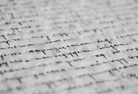 La scrittura come strumento di cura per il dolore psicologico - Diversi caratteri di scrittura ...