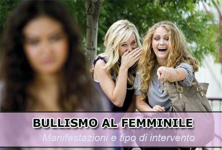 Bullismo al femminile
