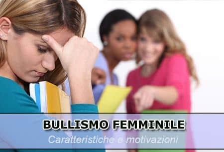 bullismo femminile