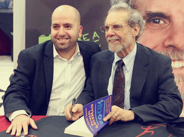 Davide Algeri con Daniel Goleman