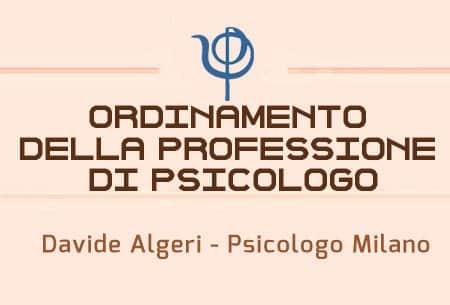 ordinamento della professione di psicologo