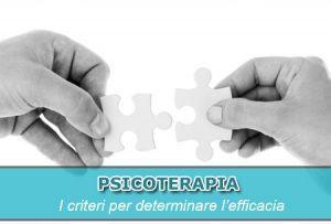 psicoterapia efficace