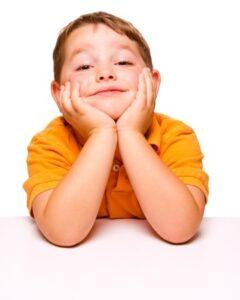 Bambino con disturbo ADHD