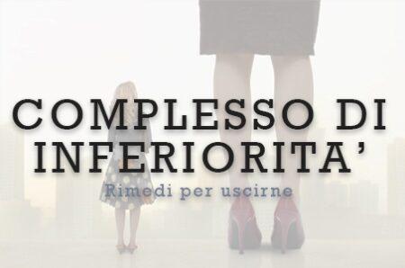 Complesso di inferiorità maschile e femminile