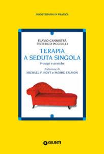 Copertina libro: Terapia seduta singola