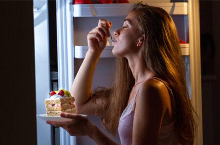 fame incontrollata e attacchi di fame