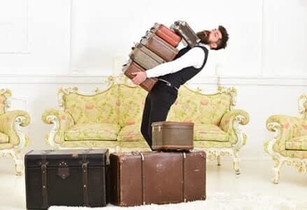 sensi di colpa e valigie